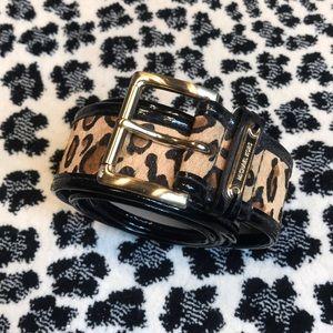 Michael Kors Cheetah skin belt! So cool! Brand New